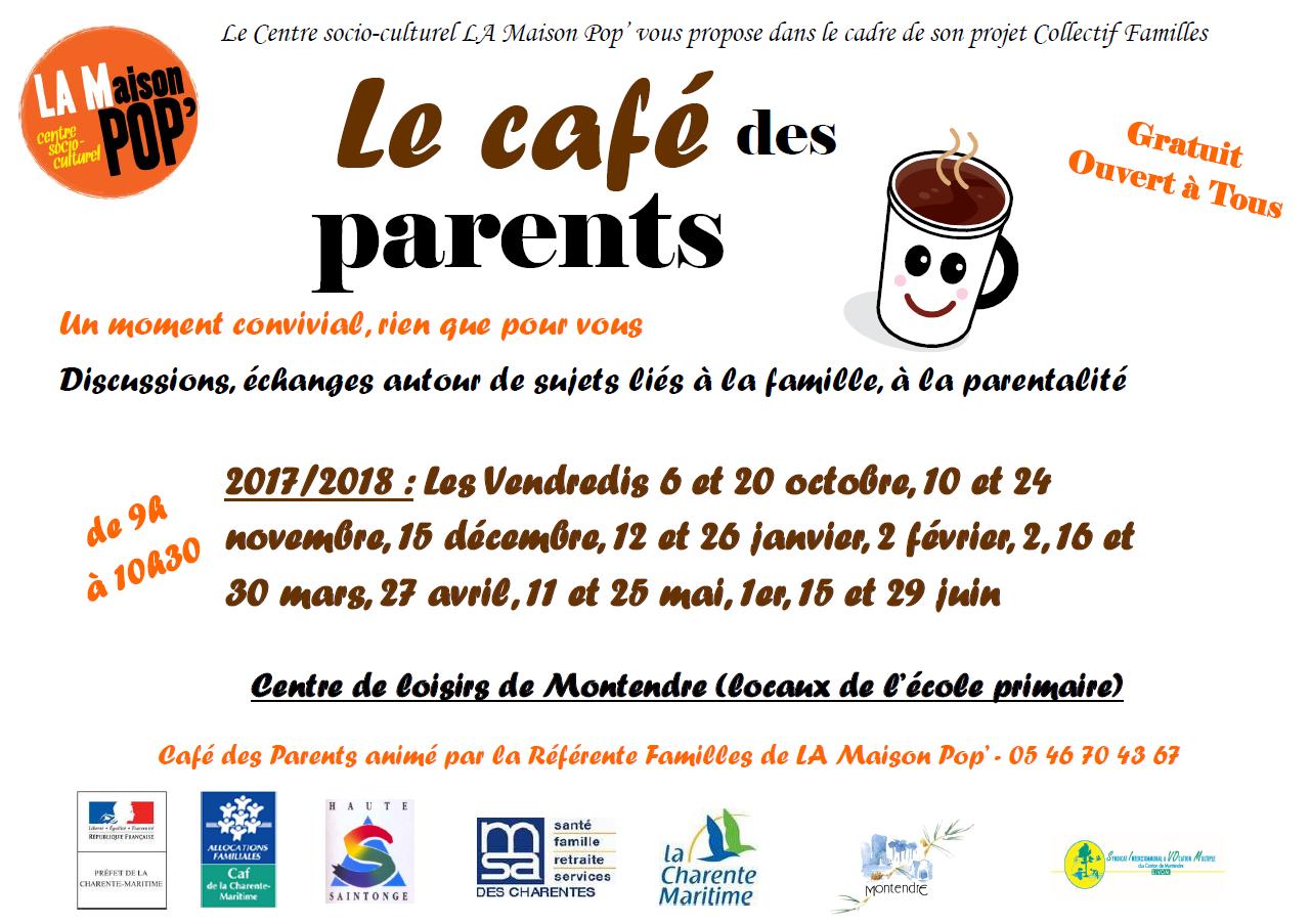 café des parents - calendrier 2017-2018