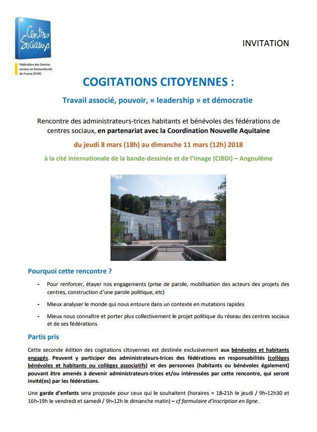 cogitations citoyennes